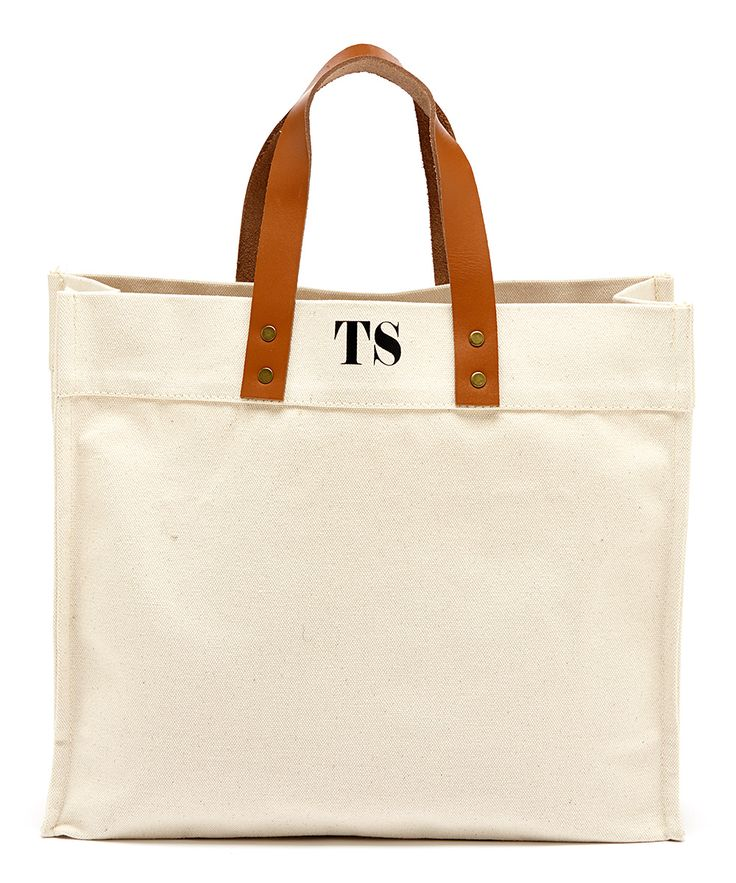 Off-White & Black Fulham Initial Tote