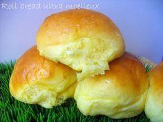 Roll Bread { Le petit pain le plus moelleux que je n'ai jamais fait !}