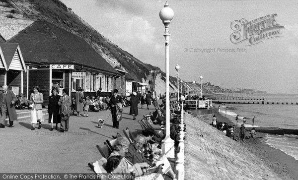 Southbourne, The Promenade c.1960, from Francis Frith