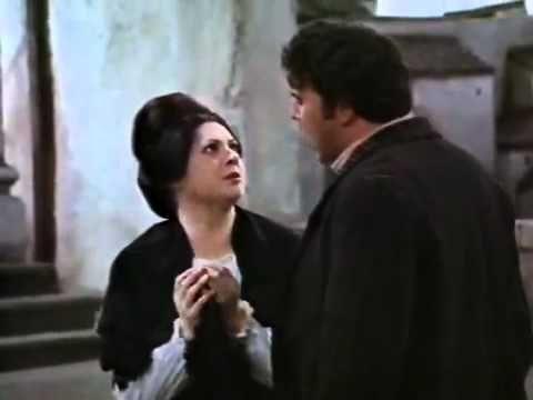 Cavalleria Rusticana 1968 - Herbert von Karajan - Fiorenza Cossotto, mezzo soprano; (see 23:00 min. and 27:30 min. in)