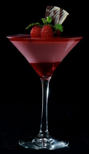 RASPBERRY ICE TEA MARTINI: 3 oz of Raspberry Sweet Tea Vodka 1 oz of Raspberry-flavored Lemonade or Simply Lemonade 1 oz of Freshly Brewed Tea (Cooled and Sweetened to Taste) Fresh Raspberries for Garnish Lemon Wedge for Garnish Ice