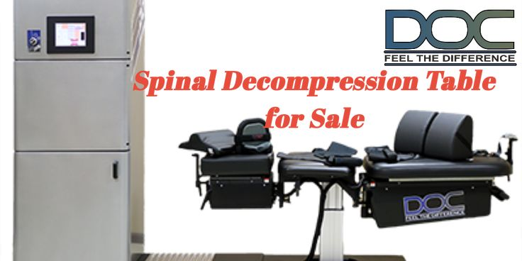 Buy Drx 9000 For Sale From Doc Decompression Table - Spinal decompression therapy requires a decompression table. With the same basic principle of spinal traction, a spinal decompression therapy is given by chiropractors, osteopaths, and other such trained health professionals.