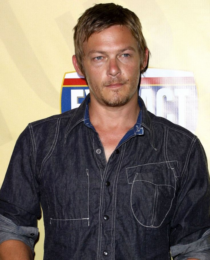 "Norman Reedus aka ""Daryl Dixon"" from The Walking Dead..."