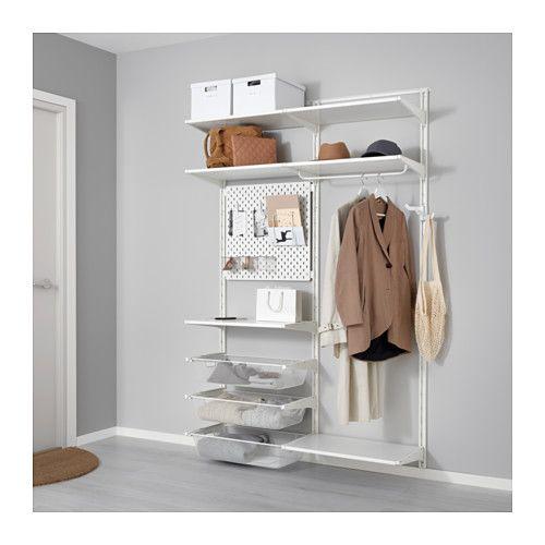ALGOT / SKÅDIS Wall upright/shelves/rod IKEA