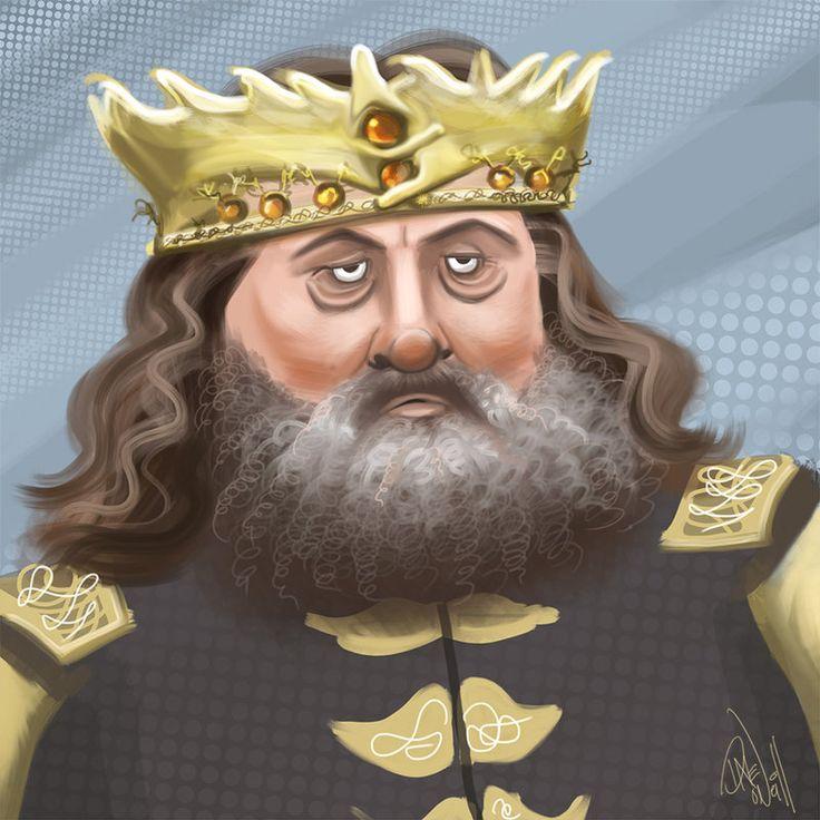 Robert Baratheon: Robert Baratheon By DavidONeillArt