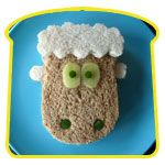 """My kids would crack up if I made this for lunch! When I get a book contract for sheep to the right - I'm going to go all out and get """"sheepy."""""""