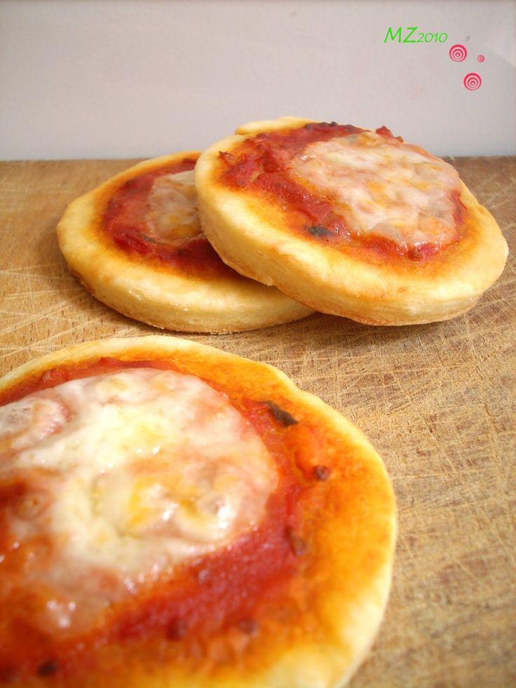 Mondo Zucchino: Pizzette di ricotta