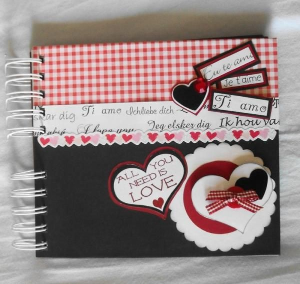 Como fazer um scrapbook para o namorado                              …