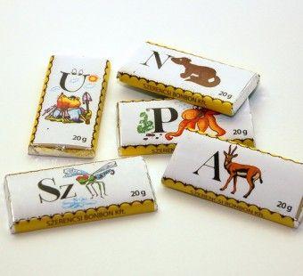 Szerencsi tejcsokoládé - Állat ABC | Nosztalgia Csokoládé Bolt