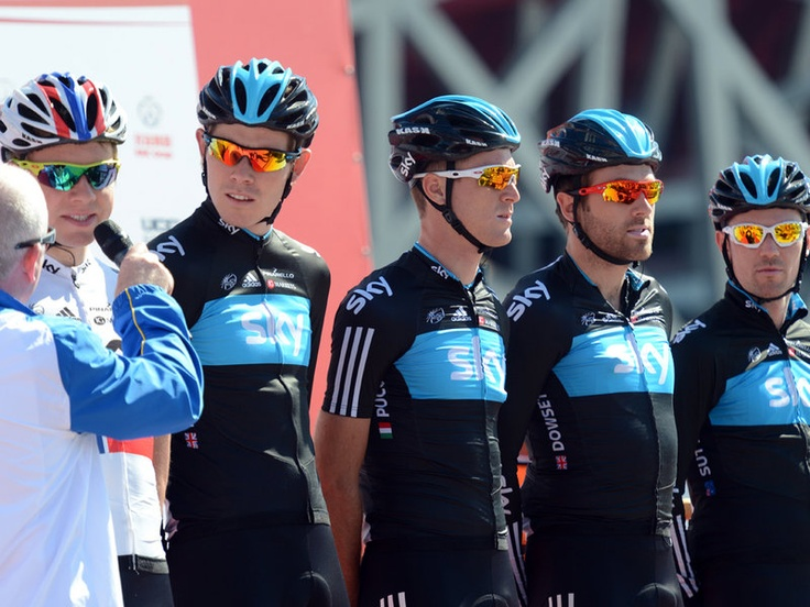 Team Sky   Pro Cycling   Photo Gallery   Beijing stage two gallery