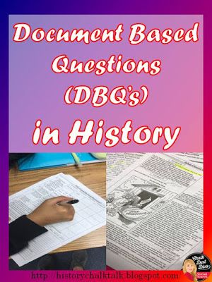 Document Based Questions in the History Classroom | History Chalk Talk