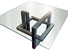 """""""Ios"""" dinning or coffee table. One of Gonzalo's most sold designs. I love it in red!"""