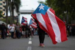 Porto Riko'nun Valisi Ricardo Rossello, federal iflas mahkemesine başvuracağını duyurdu.
