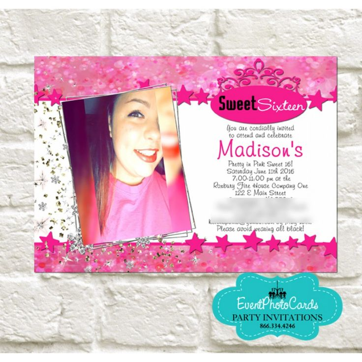 12 best images about Quinceanera Photo Invitations – Quinceanera Party Invitations