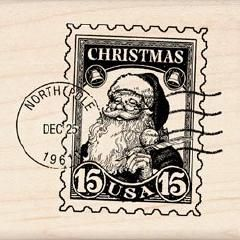 Inkadinkado North Pole Postage Stamp