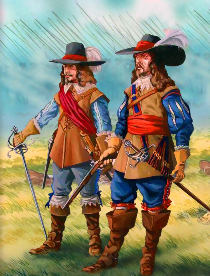 English cavalier royalists, English Civil War