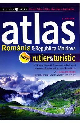 Atlas rutier si turistic Romania si Republica Moldova ed.2, http://www.e-librarieonline.com/atlas-rutier-si-turistic-romania-si-republica-moldova-ed-2/