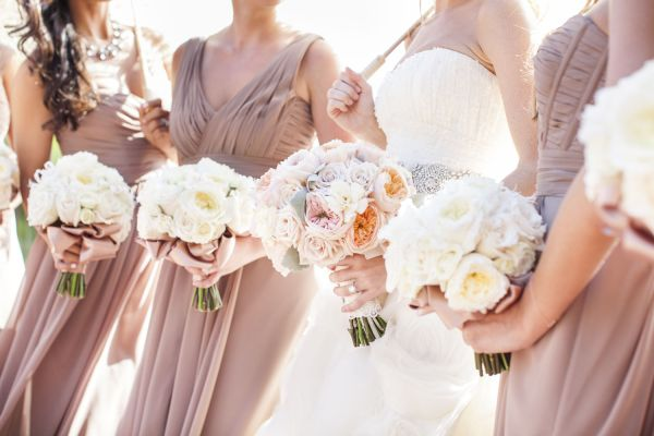 Taupe Bridesmaids Dresses | photography by http://www.samuellippke.com/studio/index.html