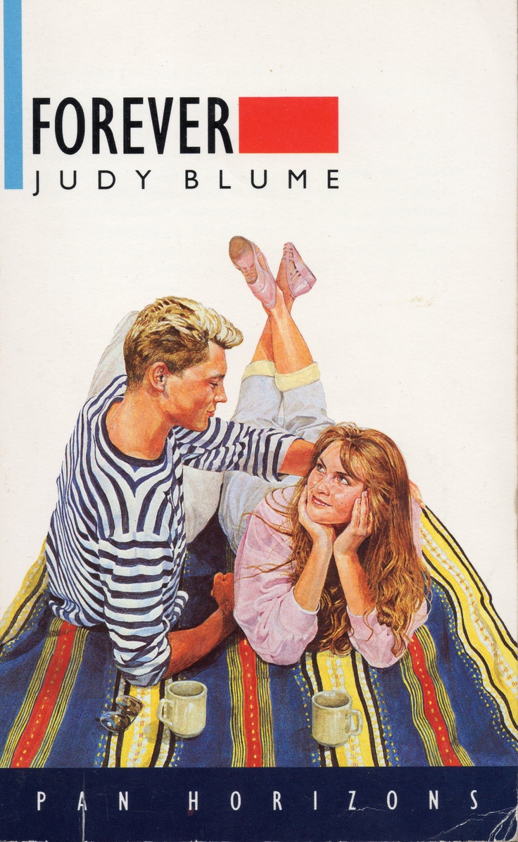 Judy Blume - Forever. I remember hiding this amoungst all my other library books incase my parents found it.