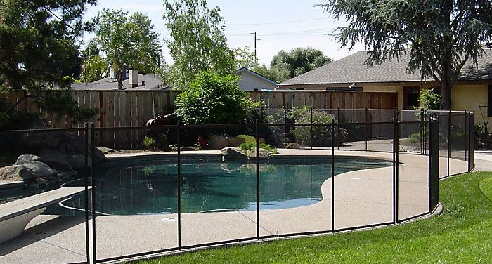 "It's time to put a ""Guardian"" around your pool!  With Guardian, every installation is customized to your specific swimming pool or backyard.  Our removable mesh fencing systems come in a variety of colors and styles specifically designed to match the aesthetics of the surrounding area. We have"