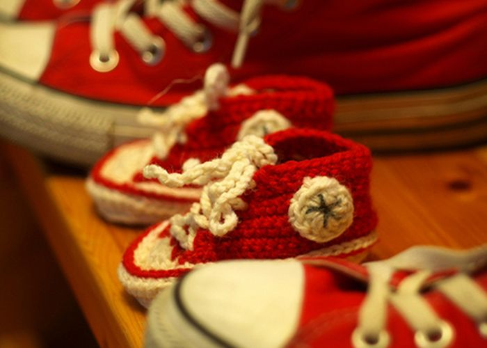 Converse Crochet and Knit Patterns