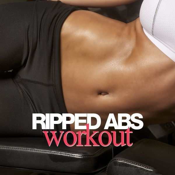 Whether you want flat abs or a six pack, this workout will help you get there. Go ahead and work your abs 2 -3 times weekly, especially if you want defined abs. #rippedabs #strengthtraining #abs #flatbelly