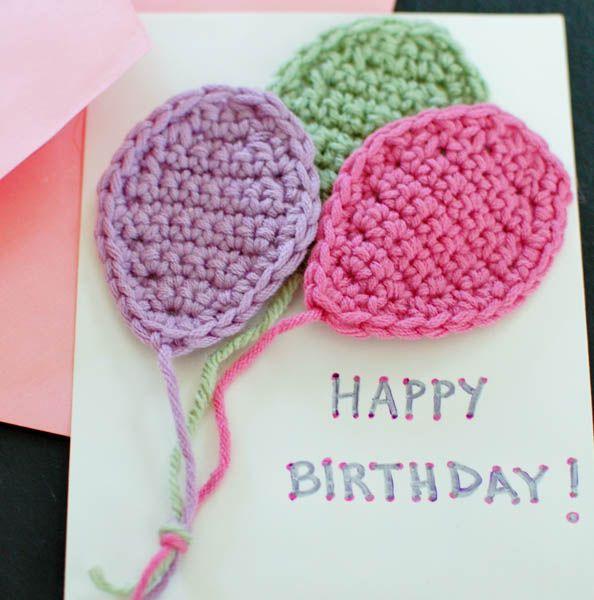 Crochet Balloons Applique Pattern