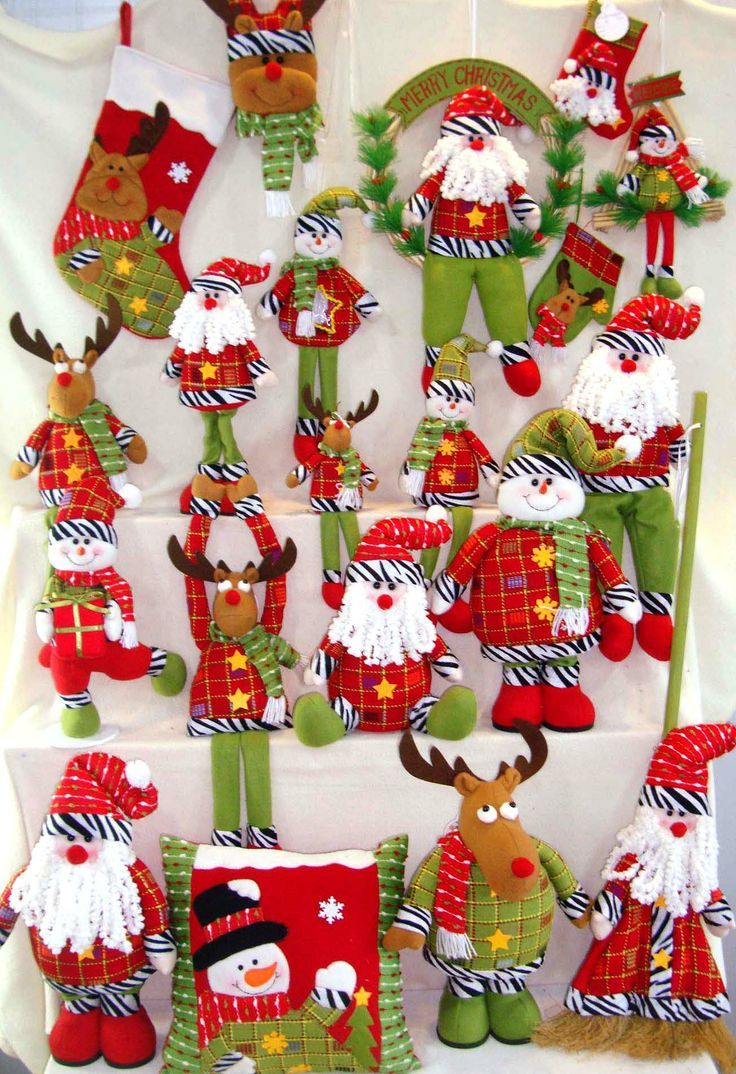 Handmade Cloth Art for Christmas decoration from Quanzhou Ruihua Crafts Company/China