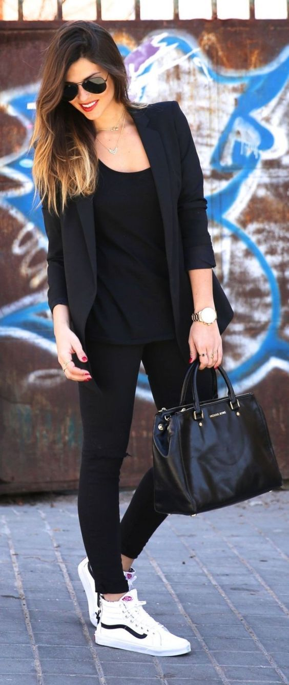 20 Elegant Ways to Make Outfits with Black Pieces - Pretty Designs
