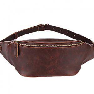 Riñonera de cuero artesanal para lucir el mejor look - DeCueroOnline.com
