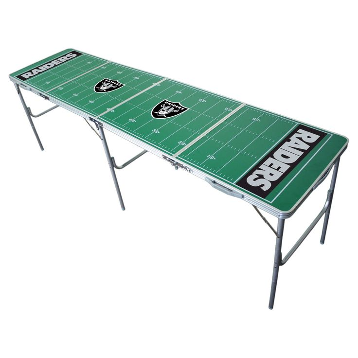 NFL Oakland Raiders Tailgate Table - 2'x8',