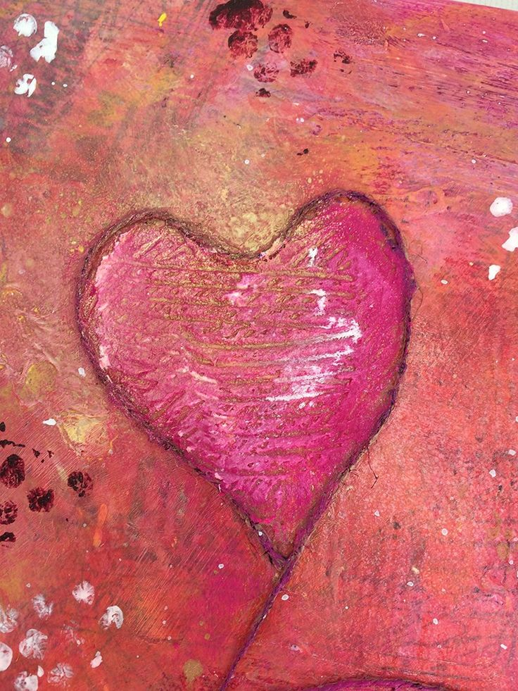 Et nytt bilde på veggen.. – The Paper Crafting - Mixed media canvas