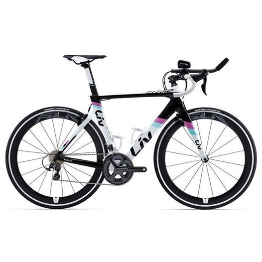 GIANT LIV ENVIE ADVANCED TRI 2015 LADIES ROAD BIKE Redefining your meaning of fast, Envie Advanced Tri combines an aero shaped frame with all the equipment needed for your next triathlon including reliable components and comfortable tri-bars. https://www.facebook.com/pages/The-Cycle-Showroom-at-FitEquipmentcouk/255849747811096