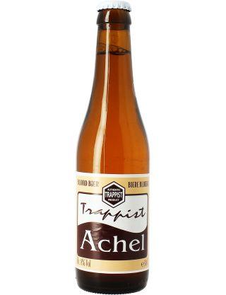 Achel blonde. Bière Trappiste méconnue en France.