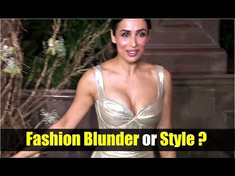 WATCH Malaika Arora Khan's Dress | Fashion Blunder or Style ? SEE the full video at : https://youtu.be/B6U3OPThw0k #malaikaarorakhan #bollwoodnewsvilla