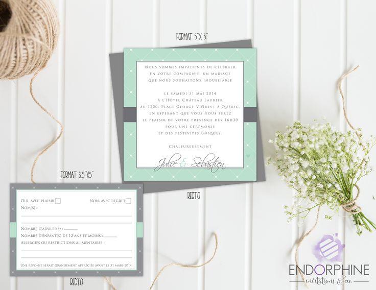 Invitation Endorphine en version imprimable