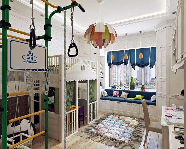 детская комната девочки - Галерея 3ddd.ru