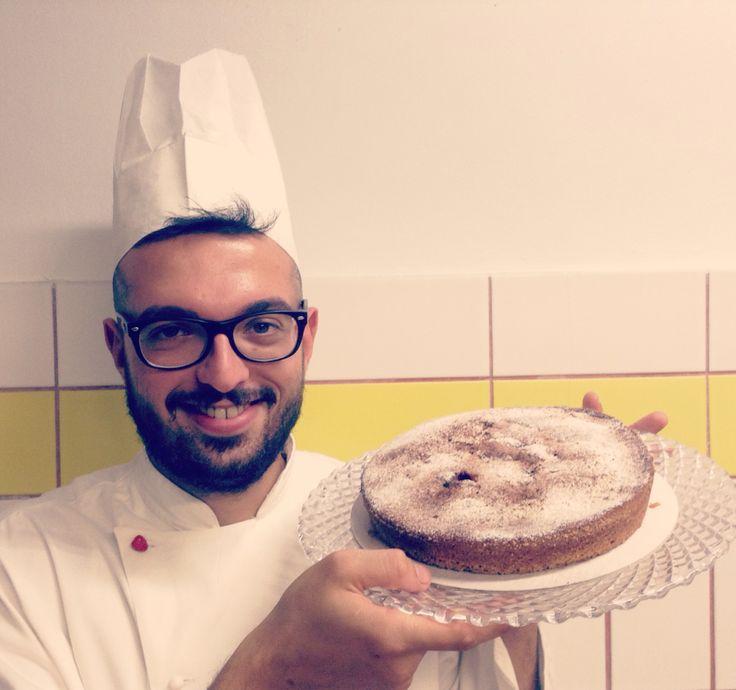 Il nostro Chef Pasticciere con la Torta Linzer / Our Pastry Chef with Linzer Pie
