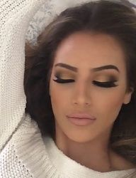 This is how I want my makeup for the wedding