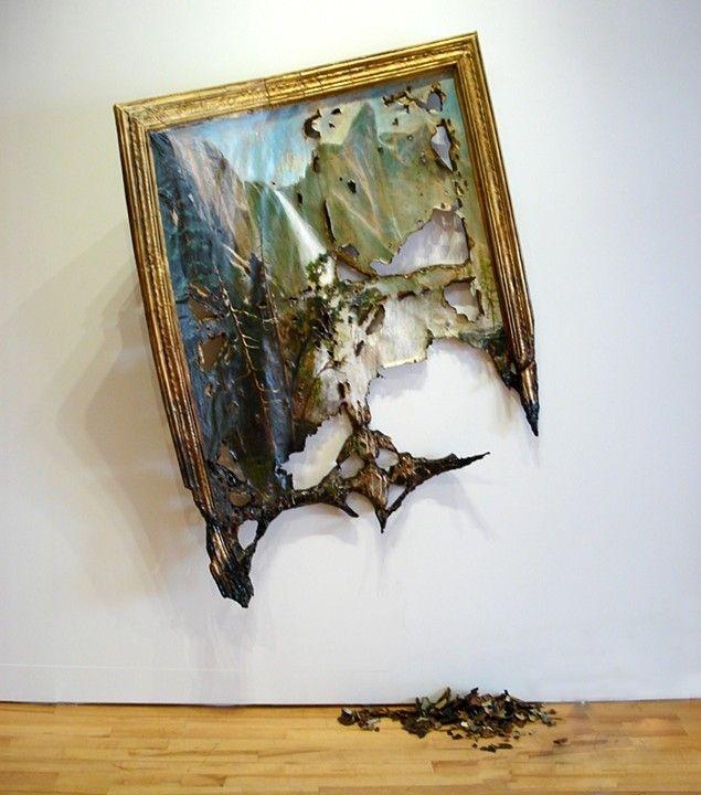 Valerie Hegarty, Fallen Bierstadt, 2007