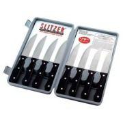Slitzer 8pc Professional German-Style Jumbo Steak Kniv