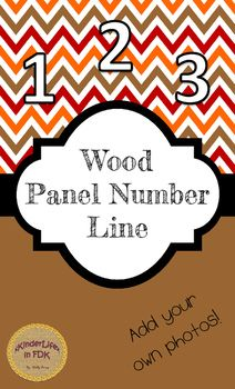 Use this number line anywhere in your classroom! This number line fits perfectly with a more Reggio/more natural classroom. FYI: This was created for use on 8  by 14 Legal sized paper. Print out the posters and back them onto construction paper. Laminate them if youd like!I left space in the middle to add your own photos!Here are some examples of how to co-create these with your students:- Have students write the number words on a piece of paper and attach it- Add photos of your students…
