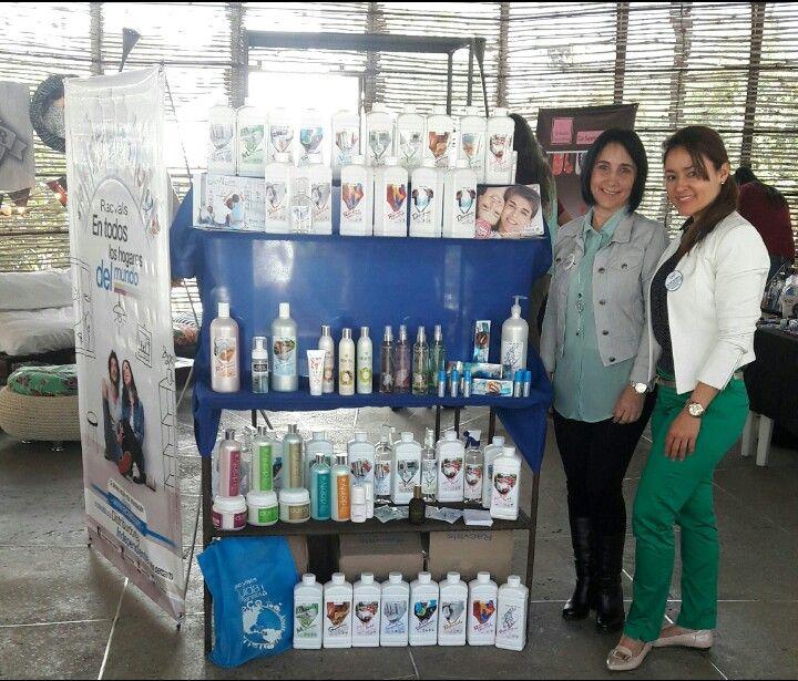 De feria empresarial con la empresaria Zulma Llanos.