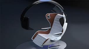 recliner gaming chair interiors expo tv computer aircraft interior