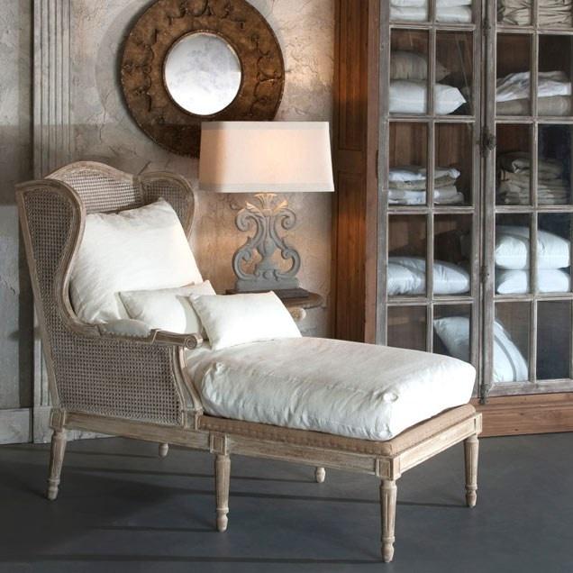 Aidan Gray Furniture Havana Lounger In Soft White