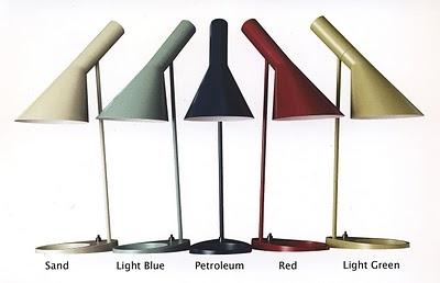 Arne Jacobsen desk lamps. Great design