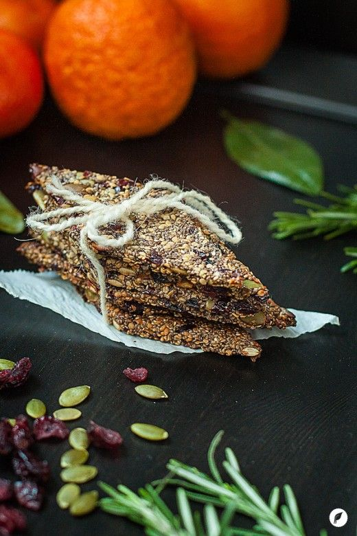 Cranberry Orange Chia Seed Bars - All natural chia seed bars pack a nutrient-dense punch, for a simple and healthy snack on the go!