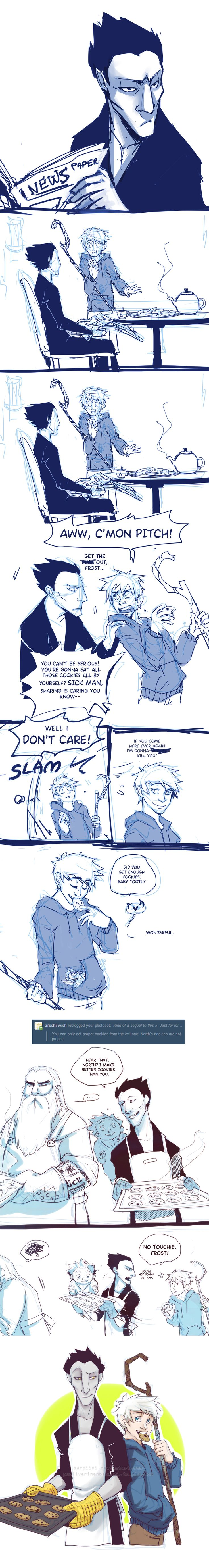 ROTG doodles and sketches - COOKIES by ~Sardiini on deviantART