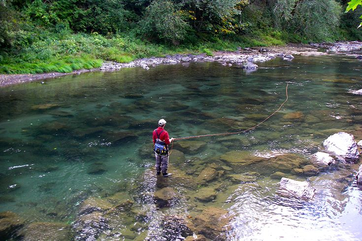 fly fishing on the kalama river kalama wa pinterest