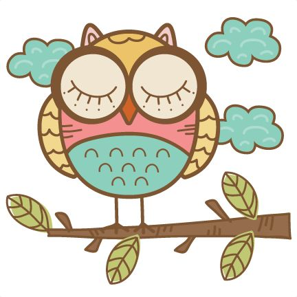Doodle Owl SVG cutting file cute owl clipart free svg cut files